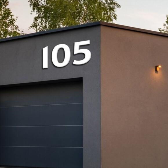 Utfrest husnummer