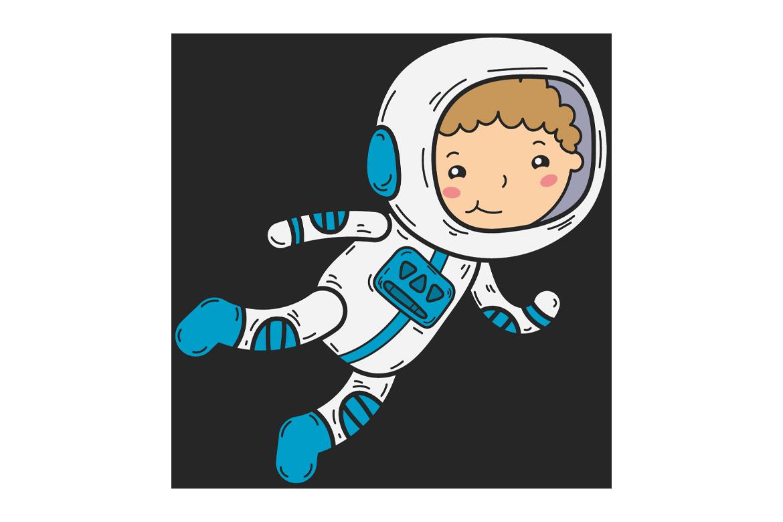 Veggdekor-Astronaut4