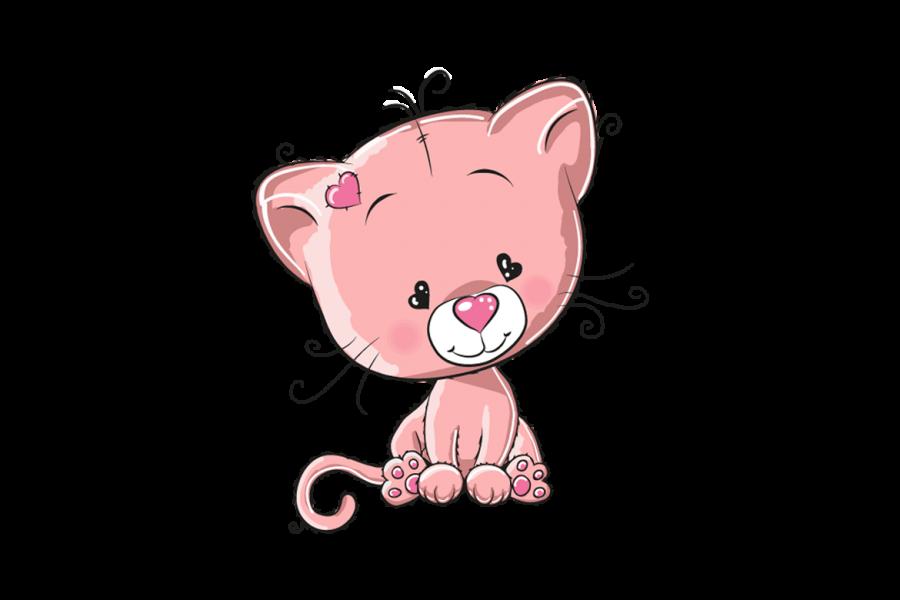 Veggdekor-Katt