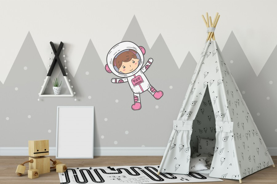 Veggdekor-Astronaut1