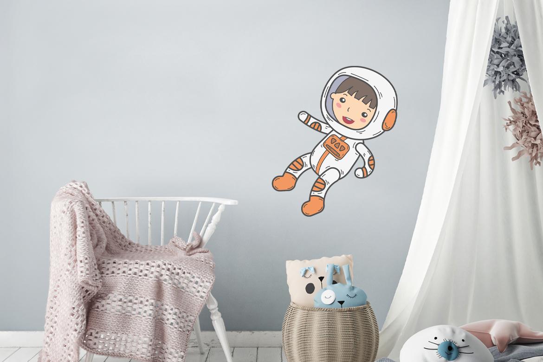 Veggdekor-Astronaut2