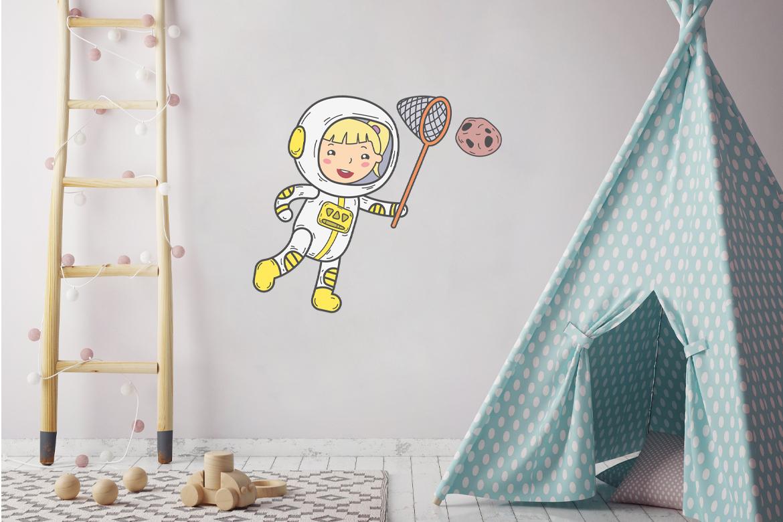 Veggdekor-Astronaut3