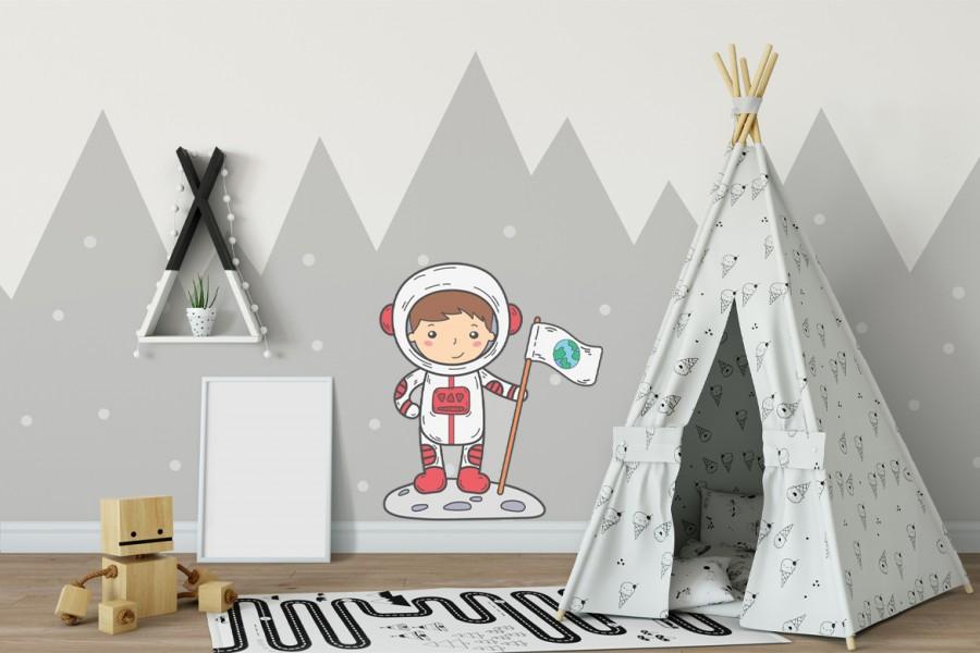 Veggdekor-Astronaut5