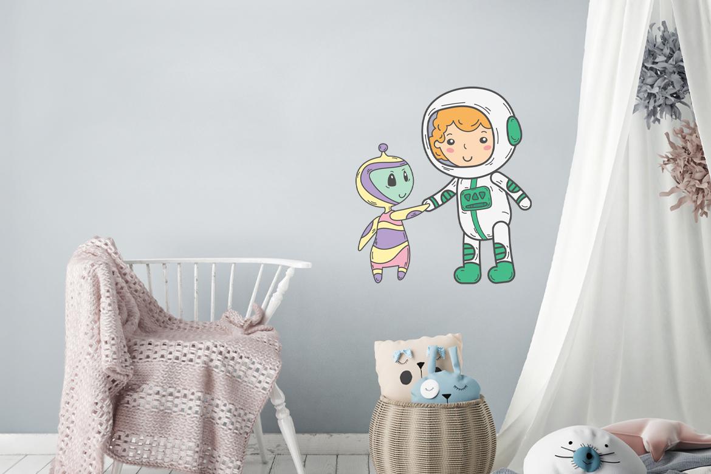 Veggdekor-Astronaut6