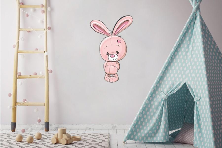 Veggdekor-Kanin