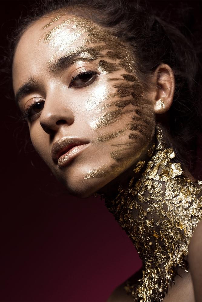 Interiør-Golden-glitter