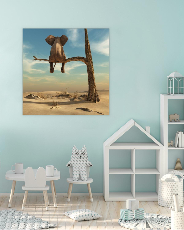 Interiør-Mock-Peacful-Elephant