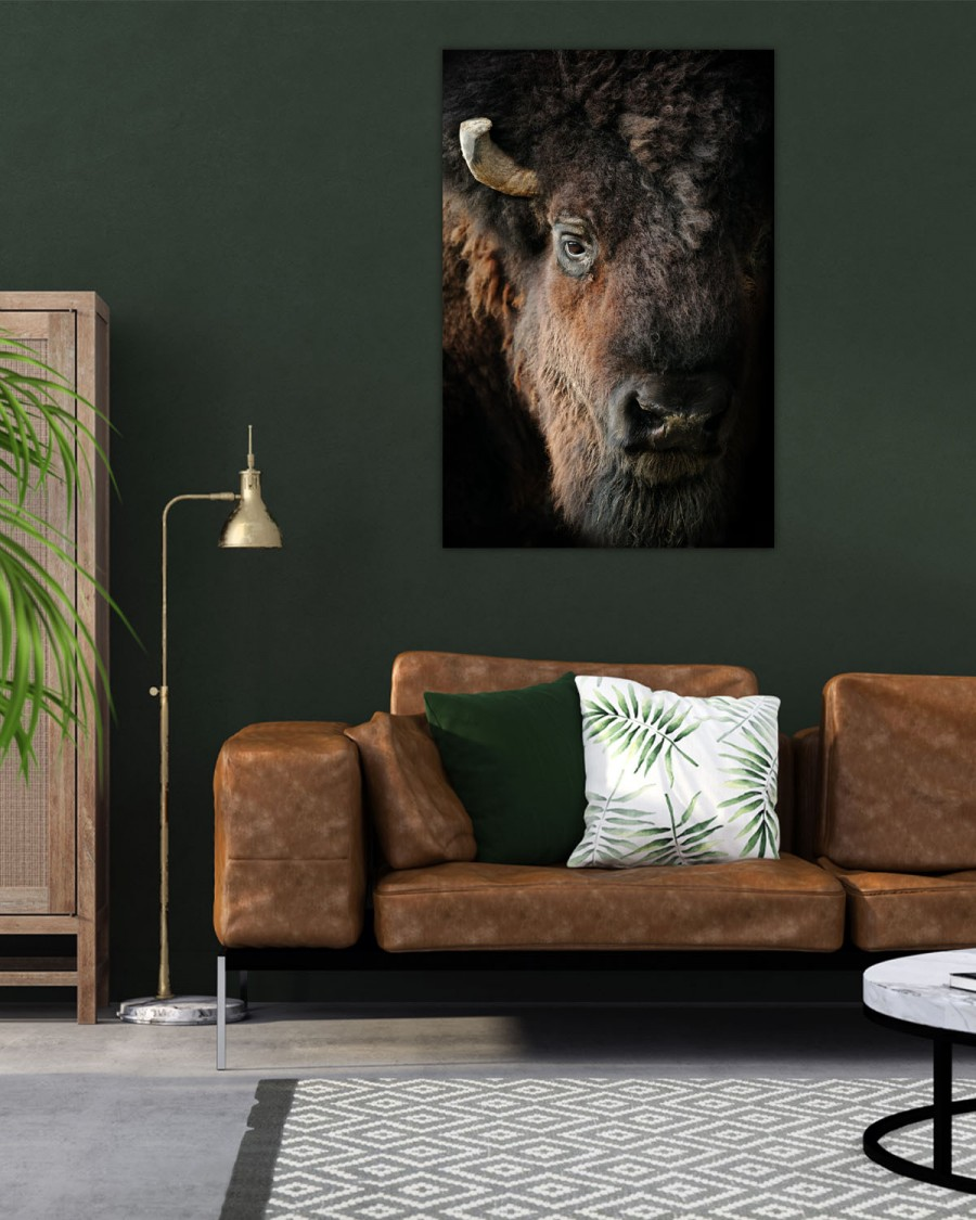 Interiør-Mock-American-bison