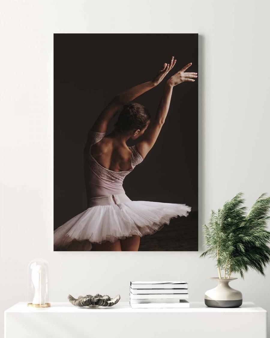 Veggbilde - Ballerina - Pose