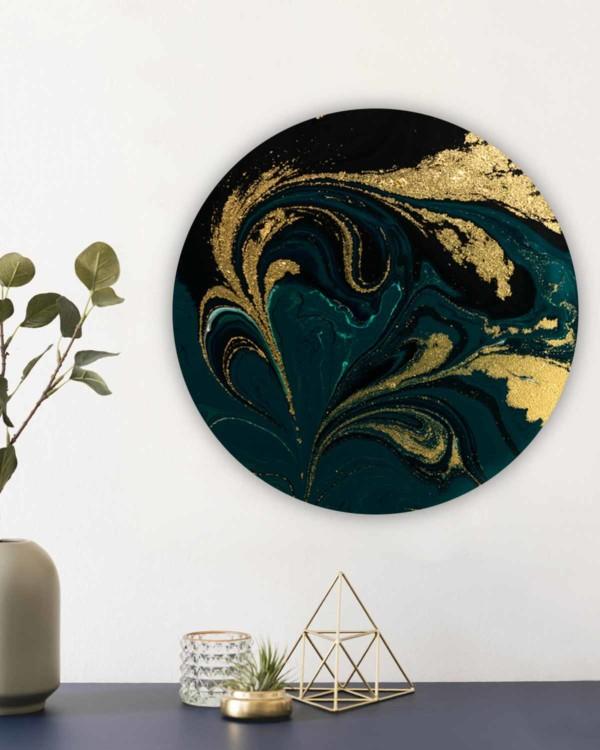 Interiør-Gull&GrønnMarmor-mock-rund