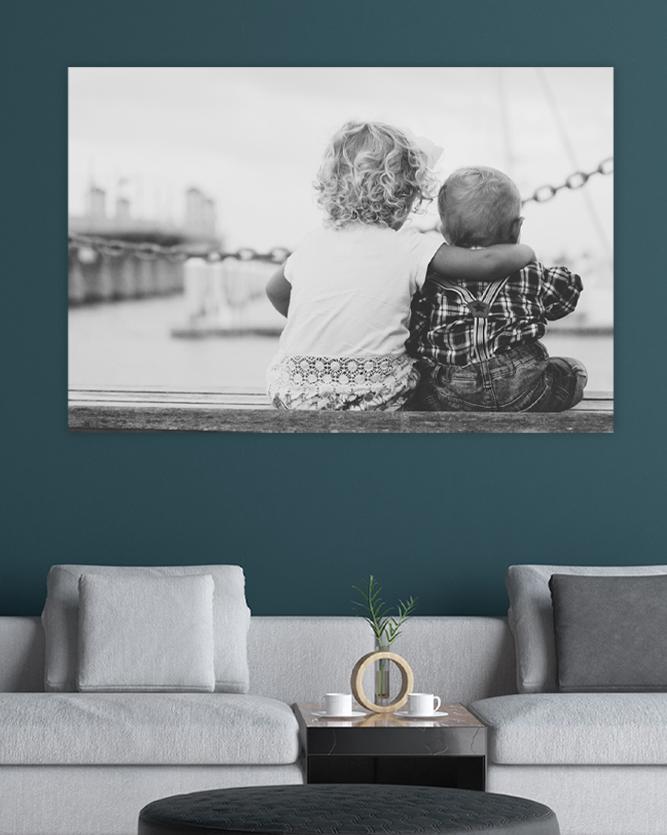 Ditt foto på vegg