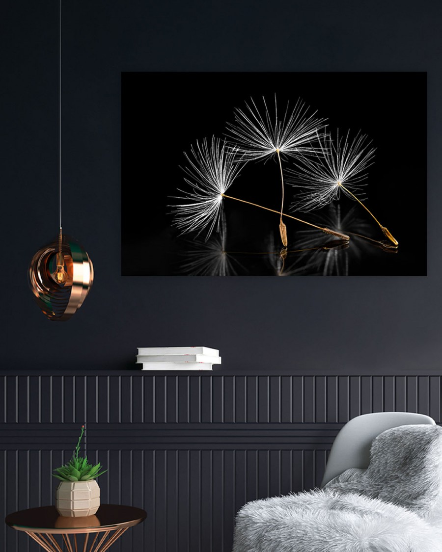 Mock-interiør-dandelion
