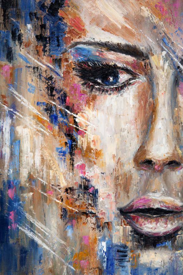 Interiørbilde-abstrakt