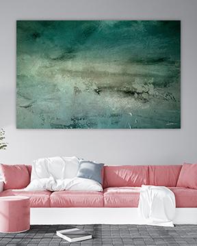 Kunstbilde - interiør - frost